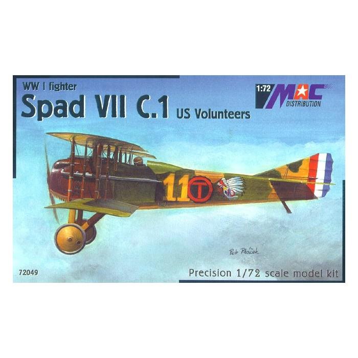 Spad VII C.1 US Volunteers - 1/72 kit