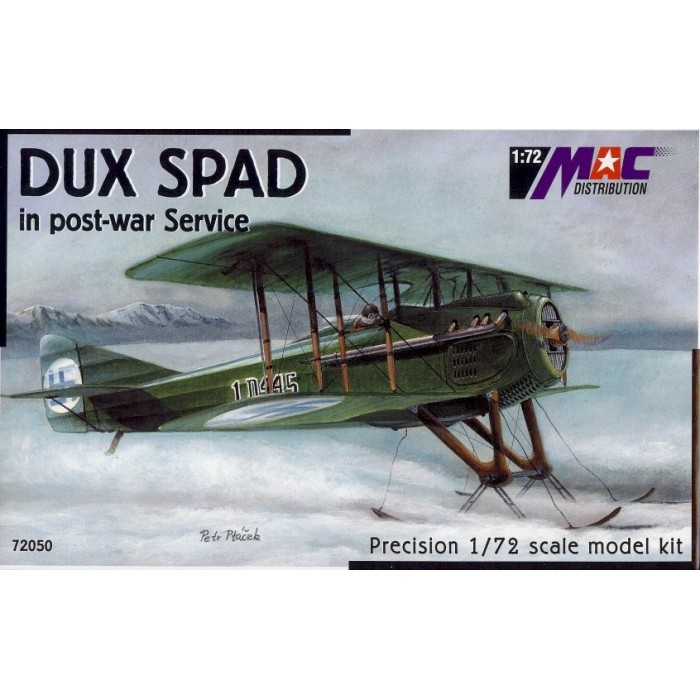 DUX Spad in post-war service - 1/72 kit