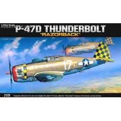 P-47D Razorback - 1/72 kit