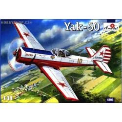 Yakovlev Yak-50 Single Seater - 1/48 kit