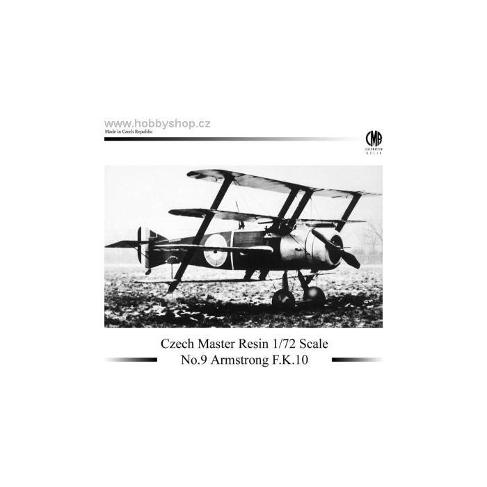 Armstrong F.K.10 - 1/72 resin kit