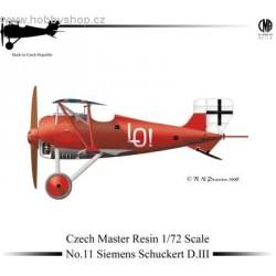 Siemens Schuckert D.III - 1/72 resin kit