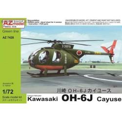 Kawasaki OH-6J - 1/72 kit