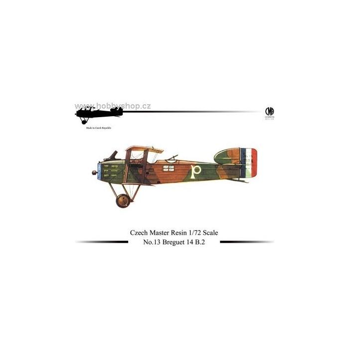 Breguet 14 B.2 - 1/72 resin kit
