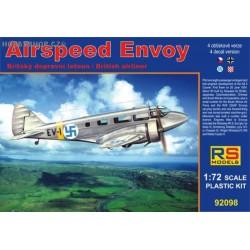 Airspeed Envoy Castor engine - 1/72 kit