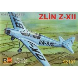 Zlin Z-XII - 1/72 kit