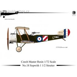 Sopwith 1 1/2 Strutter - 1/72 resin kit