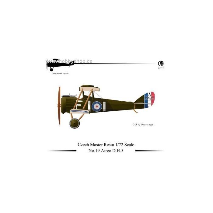 Airco D.H.5 - 1/72 resin kit