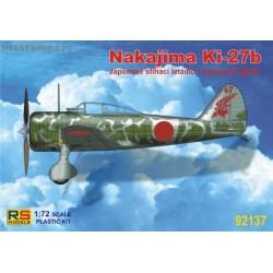 Nakajima Ki-27 IJA - 1/72 kit
