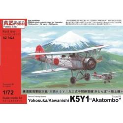 Yokosuka/Kawanishi K5Y1 'Akatombo' Type 93 1941-44 - 1/72 kit