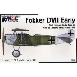 Fokker D.VII early - 1/72 kit