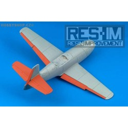Yak-23 control surfaces - 1/48 update set