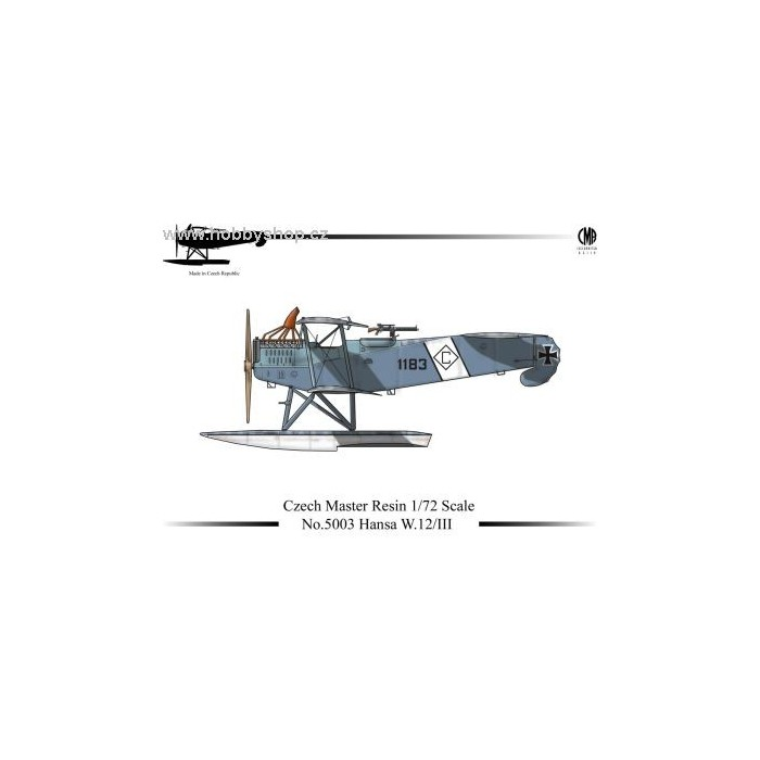 Hansa W.12/III - 1/72 resin kit