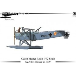 Hansa W.12/V - 1/72 resin kit