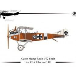 Albatros C.III - 1/72 resin kit