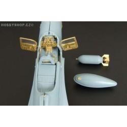 P-39D / Airacobra Mk.I - 1/72 PE set