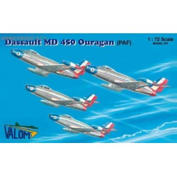 Dassault MD 450 Ouragan Patrouille de France - 1/72 kit