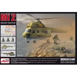 Mil Mi-2 Hoplite Transport - 1/48 kit