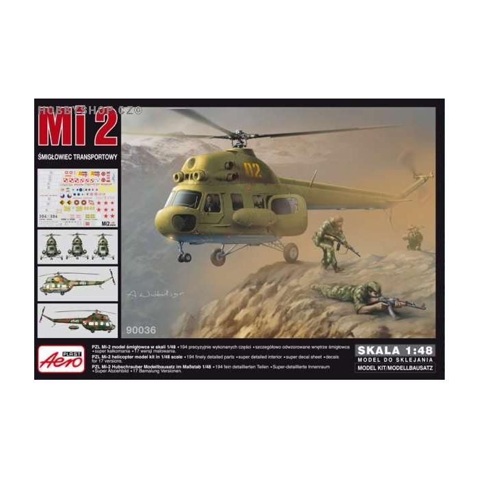 mil mi-2 hoplite transport - 1  48 kit
