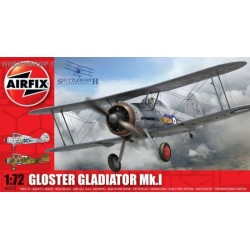 Gloster Gladiator Mk.I - 1/72 kit