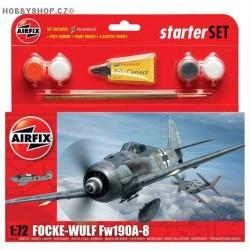 Focke Wulf Fw 190A-8 Starter Set - 1/72 kit