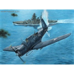 SB2U-3 Vindicator Marines Go To War  - 1/72 kit