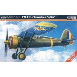 PZL P-11c Besarabian Fighter - 1/72 kit