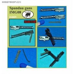 Spandau guns LMG08 - 1/48 update set