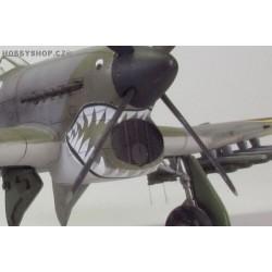 Typhoon air intake mesh - 1/72 PE set