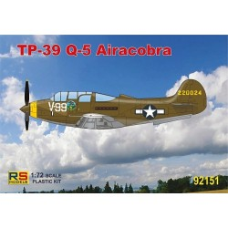 TP-39Q-5 Airacobra Trainer - 1/72 kit