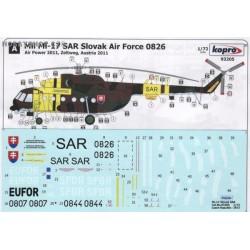 Mi-17 SAR Slovak Air Force - 1/72 decal