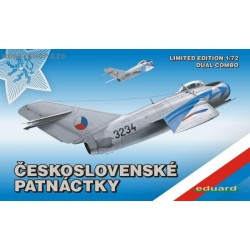 MiG-15 in Czechoslovak service DUAL COMBO Limited - 1/72 kit clearance sale