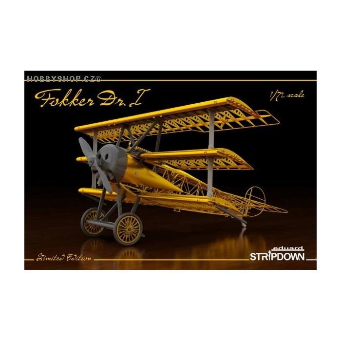 Fokker Dr.I STRIPDOWN Limited - 1/72 kit