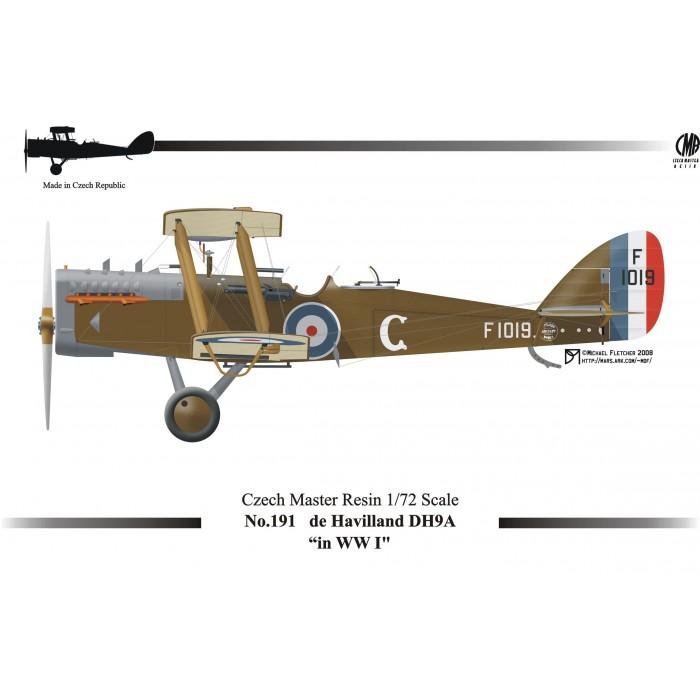 D.H.9 - 1/72 resin kit