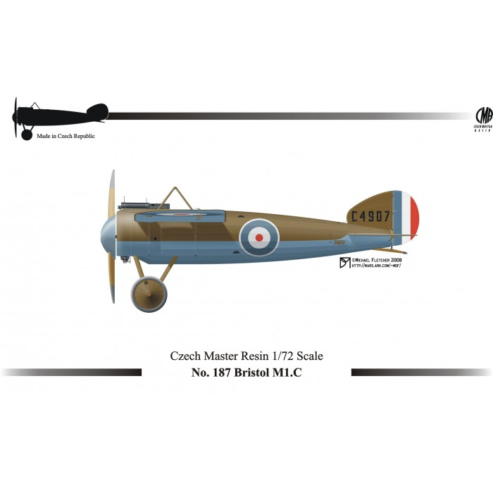 Bristol M1C - 1/72 resin kit