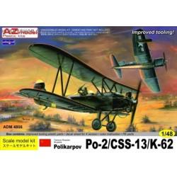 Polikarpov Po-2/CSS-13/K-62 - 1/48 kit