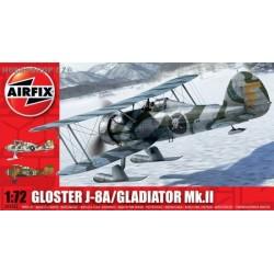 Gloster Gladiator Mk.II / J-8A - 1/72 kit