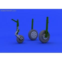 MiG-21PFM wheels - 1/48 update set