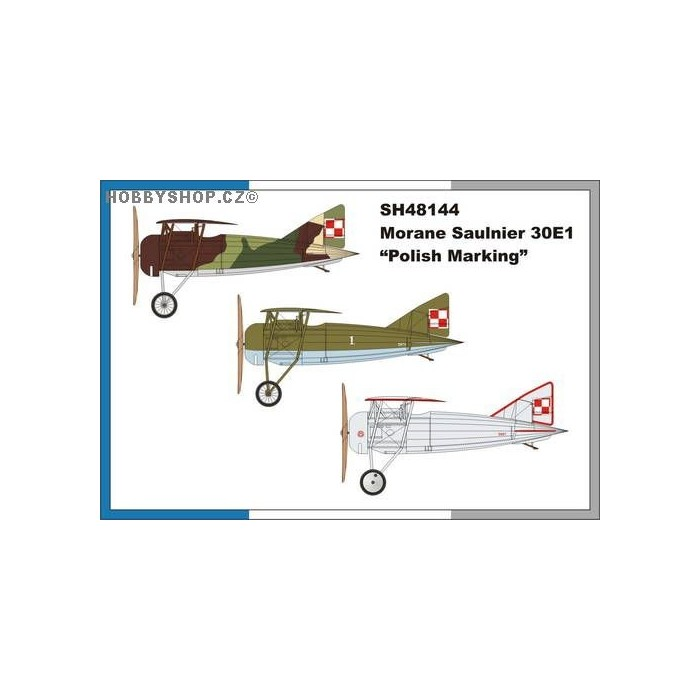 Morane Saulnier MoS.30E.1 Polish Marking - 1/48 kit