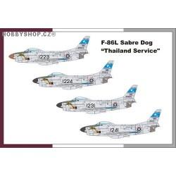 F-86L Sabre Dog Thai Service - 1/72 kit