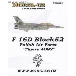F-16D 'Tigers 4082' - 1/48 decals