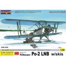 Polikarpov Po-2LNB with skis - 1/48 kit