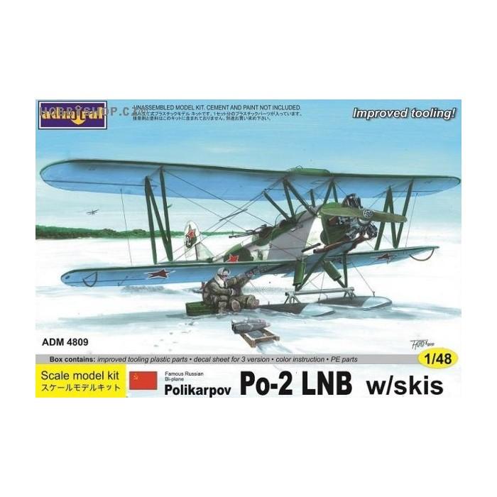 Polikarpov Po-2LNB with skis - 1/48 kit