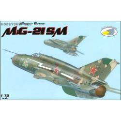 MiG-21SM - 1/72 kit