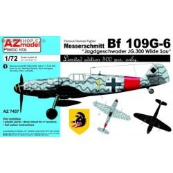 Bf 109G-6 Jagdgeschwader JG.300 Wilde Sau - 1/72 kit