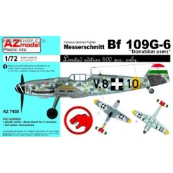 Bf 109G-6 Danubian users - 1/72 kit