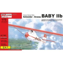 Schneider Grunau Baby IIb German 2 in 1 - 1/72 kit