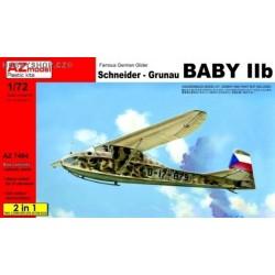 Schneider Grunau Baby IIb Czechoslovakia 2 in 1 - 1/72 kit