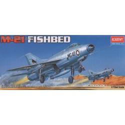 MiG-21 Fishbed - 1/72 kit