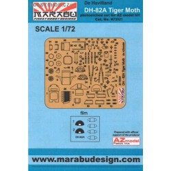 Tiger Moth - 1/72 PE set